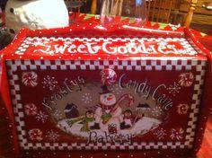 Christmas Bread Box