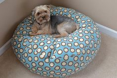 DIY Summer : DIY Fleece Dog Bed