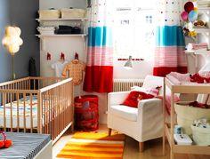 Pequeño dormitorio para bebés. Ideas prácticas.