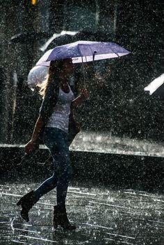 Nothing like a short Summer rain