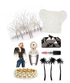 """""""#4"""" by itismybeautylife ❤ liked on Polyvore featuring Home Decorators Collection, Coast, Dot & Bo, R.J. Graziano, Barney's Originals, WithChic, Marc Jacobs and MAC Cosmetics"""