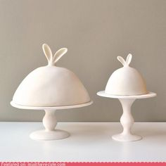 perfect cake domes...with ears