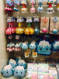 Mt Fuji stuffies. Around Tokyo. Kawaii things spotted everywhere