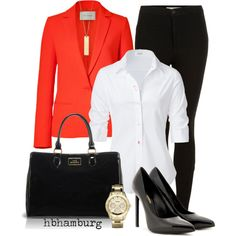 No. 203 - At the Office by hbhamburg on Polyvore