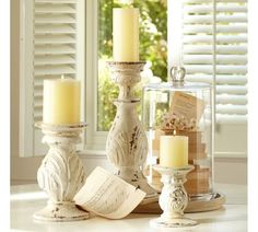 ACANTHUS PILLAR HOLDERS  $19.00 – $49.00