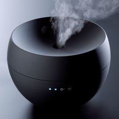 Jasmine Aroma Diffuser - transforms water blended with essential oil into an extra fine mist. By Stadler Form. The best way to diffuse essential oils. I use a Young Living diffuser with same diffusion method. Aroma Diffuser, Essential Oil Diffuser, Essential Oils, Aromatherapy Diffuser, Sleep Aromatherapy, Hammacher Schlemmer, Geek Gadgets, Cool Gadgets, Deco Spa