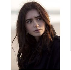 Lily Collins  she is beautiful ~ picture from Stuck in Love ❤️