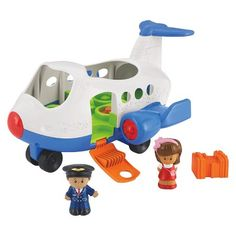 Fisher-Price® Little People Lil' Movers Airplane : Target