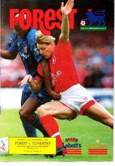 21 September 1992 v Nottingham Forest Drew 1-1