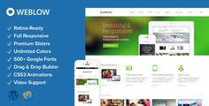 Weblow 1.8 - Responsive Multi-Purpose Theme Screen Preview