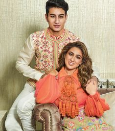 When Sara and Ibrahim Ali Khan pose together for a shoot, this is what happens! Celebrity Couples, Celebrity Photos, David Bowie Poster, Sara Ali Khan, Boys Over Flowers, Star Fashion, Men's Fashion, Royal Weddings, Princess Kate