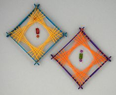String art ornaments
