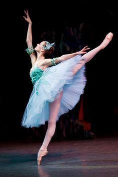Olga Smirnova in Balanchine's 'Emeralds' from 'Jewels'.