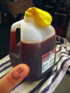 Home-brewed Wine. For cheap college students, or anyone who wants to try a cool science experiment!