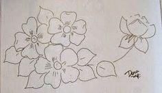 flores do campo para pintar