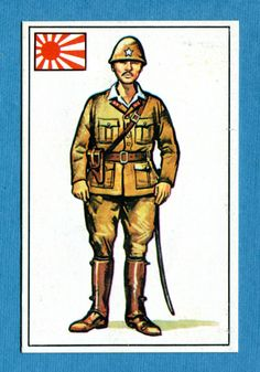 ARMI E SOLDATI - Edis 71 - Figurina-Sticker n. 404 - UFFICIALE GIAPPONESE -Rec • EUR 1,00 - PicClick IT