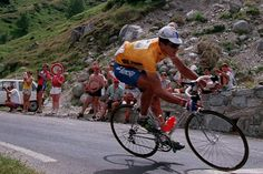 Miguel Indurain-15 JULY-1994 Road Racing, Road Bike, Cycling, Bicycle, Sport, 1990s, Live, Vintage, Tour De France