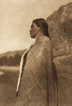 A woman of Nootka (The North American Indian, v. XI. Cambridge, MA: The University Press, 1916)