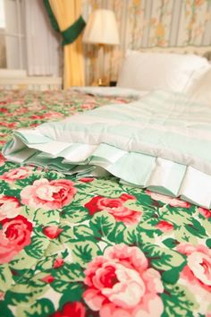 Can't see Gregg going for this but I sure would love it! Maybe for a guest room... Carleton Varney Reversible Duvet | The Greenbrier Online Store