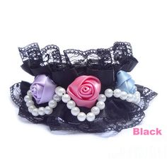 Lace Necklace Pet Collar Series Rose Garden
