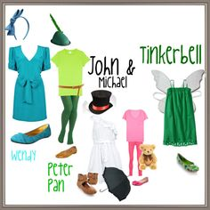 """Peter Pan Costumes :)"" by paigeisadreamer on Polyvore"