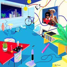 my perfect apartment! Yoko Honda | A R T N A U