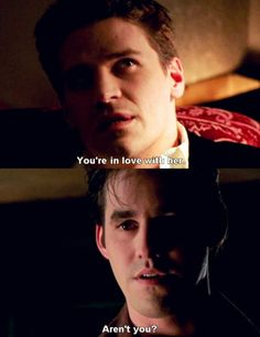 Angel and Xander talking about Buffy