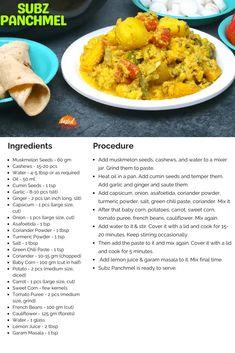 Subz Panchmel | Subz Panchratan | Subz Panchavati | Tasted Recipes Coriander Powder, Fresh Coriander, Rajasthani Food, Chilli Paste, Vegetarian Snacks, Snacks Recipes, Learn To Cook, Recipe Today, Curry Recipes