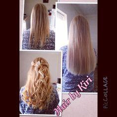 Keratin bonds hair extensions