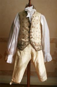 Жилет, кюлоты(короткие панталоны) рубаха 18 век.Подлинник.