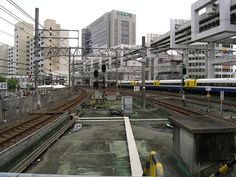 A Train Station - Chiba.