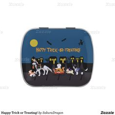 Happy Trick or Treating! Candy Tins #halloween #trickortreat #pets #cats #dogs