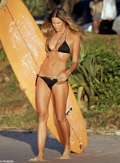 Almost 50! Gotta love Elle, the essence of healthy and strong....and BONUS, she's beautiful. I've got to get to the west coast pronto...and bring my surf board! :)