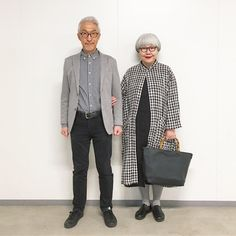 Meet Bon and Pon: the Japanese retirees making coordinated outfits cool