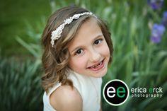 First Communion Photography #ericaerckphotography #outdoorportrait #springphotography