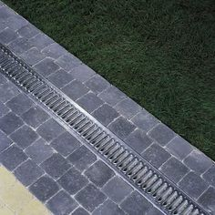 Drainage Grates, Landscape Drainage, Paving Ideas, Driveway Paving, Drainage Solutions, Sunroom Decorating, French Drain, Pavement, Curb Appeal