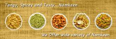Ratlami Tadka delivers Indian Namkeen ordered online to the India. Get your favourite Namkeens, Chutney, Farsan, Masalas to your doorstep. We deliver in all Indian City. Visit us: www.ratlamitadka.com