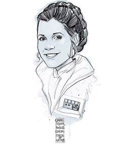 Carrie Fisher/Princess Leia