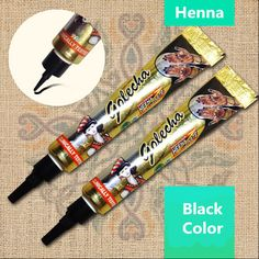 Fresh Quality Black Henna Tattoo Paste Mehndi Hand Made Tattoo Pen Cones Natural Plants Pigment Henna-Tattoo-Ink Henna Tattoo Ink, Henna Pen, Type Tattoo, Tattoos, Mehndi, Hena, Black Henna, Kegel, Tattoo Ink