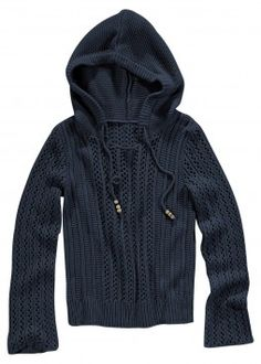 Fall = a navy hoodie sweater
