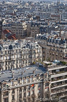 View of Paris from the Eiffel tower, Paris VII