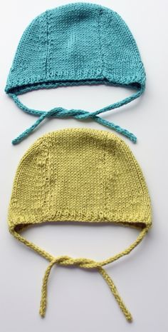 This pattern was created at the time of one of my daughters having a baby, to replace the boring white tricot hat that comes in the baby box all new mothers in Finland receive from the social security. Baby Knitting Patterns, Knitting Stitches, Purple Crafts, Knit Crochet, Crochet Blogs, Baby Hats, Knitting Projects, To My Daughter, Daughters