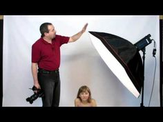Studio lighting Portrait photography tutorial: Using the smick.co.uk 120cm octagonal softbox Gavin Hoey shows how by just using this one softbox and a 400Ws studio flash head for his studio lighting setup to produce some quality portraits. Live action show shows how Gavin uses several different lighting setups and shows you just how to produce quality results in a simple to understand way.