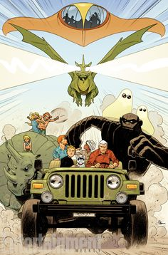 DC Entertainment announces new slate of Hanna-Barbera titles | EW.com
