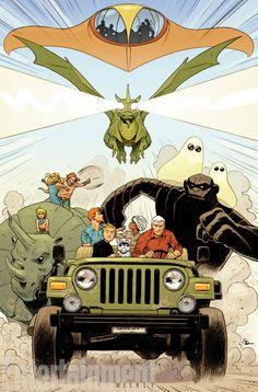 Os personagens do universo de Hanna-Barbera estão de volta pela DC Entertainment, pelas mãos de Dan DiDio e muitos roteiristas e ilustradores respeitados como Jim Lee - Jonny Quest