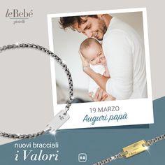 Il 19 marzo è un'ottima occasione per dirgli quanto sia un papà speciale! Tante idee regalo con la nuova collezione leBebé. :) #lebebé #gioielli #papà #festadelpapà #fierodiesserepapà #instantmoments