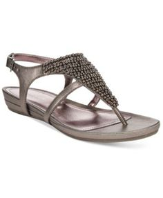 154a48516f9dd Kenneth Cole Reaction Lost The Way Wedge Sandals Shoes - Sandals   Flip  Flops - Macy s