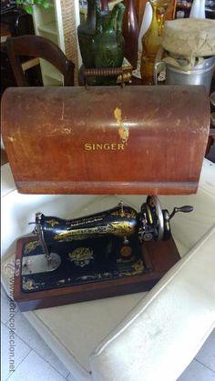 SINGER (Antigüedades - Técnicas - Máquinas de Coser Antiguas - Singer)