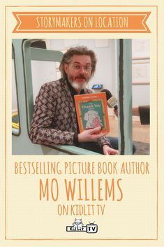 We love Mo Willems at our house--and my library!
