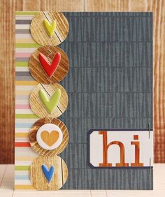 Laura Vegas cards from Studio Calico Copper Mountain kit